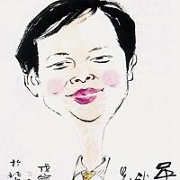 吴高龙先生漫像