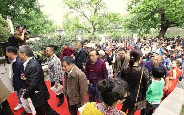 著名画家陈廷友画展在亚明艺术馆隆重开幕!