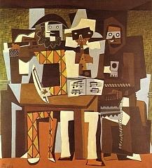 Three Musicians 1921年
