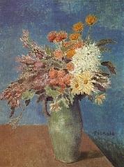 Vase of Flowers 1901年