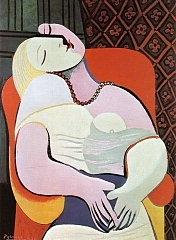 Woman Asleep in an Armchair (The Dream) 1932年