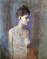 Woman in a Chemise 1905年