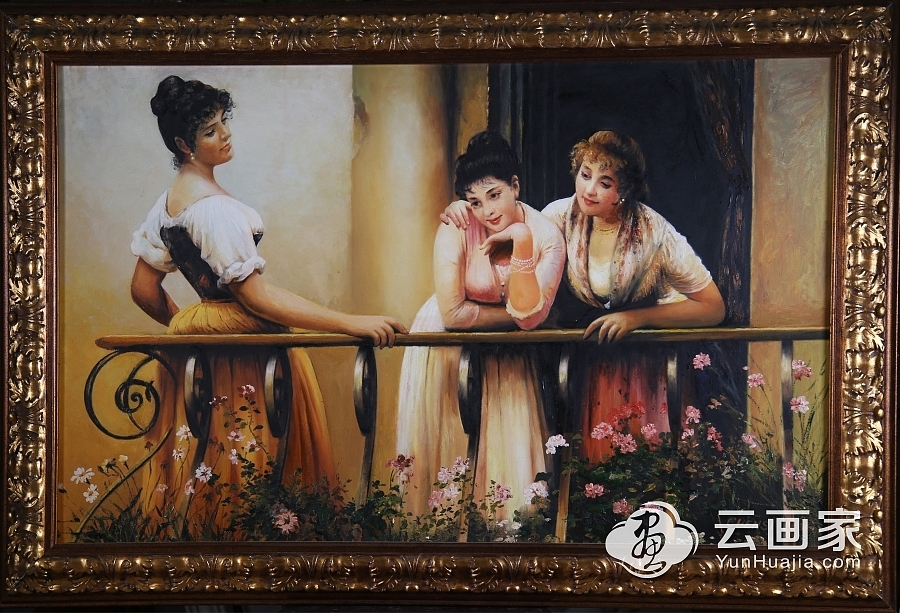 闲适三女子