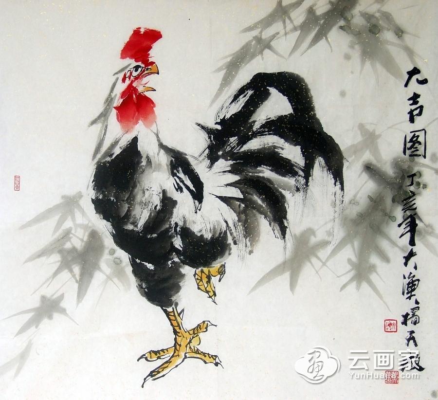 大吉图公鸡@杨天放