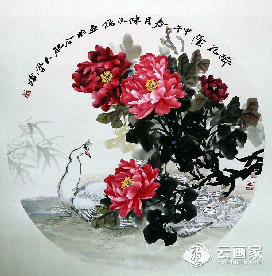 牡丹@陈流鸿