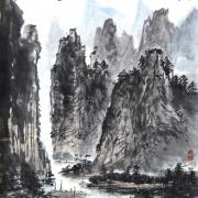 桂林山水图