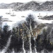 太平湖帆影