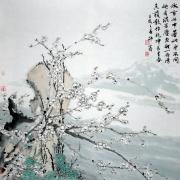 王冕诗意图@邵鑫