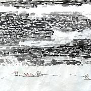 《巫峡行旅》图@唐启刚