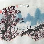 《秋馨》圖