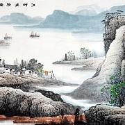 江畔涣歌图@张月岗