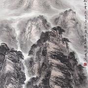 黄岳奇观松石云
