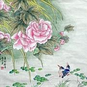 牡丹翠鸟@吕小平