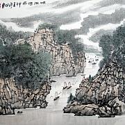 峡江烟雨@张松