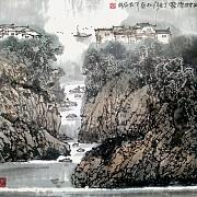 山村雨雾@张松