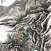 秋风征棹钓鱼滩