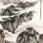 峡江清秋图