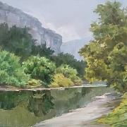 河水静悄悄